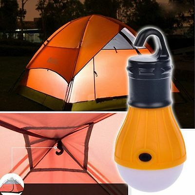 Outdoor Accessories Hanging LED Camping Tent Bulb Fishing Lantern Lamp Bettery