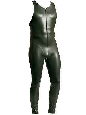 MANSTORE - M510 - Athletic Suit - Latex Imitat Body - oliv