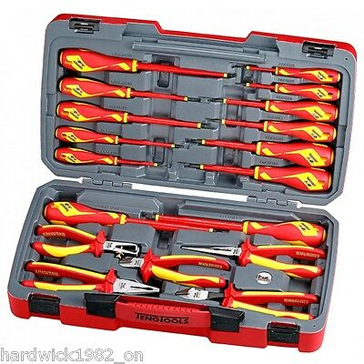 TENG TOOLS SALE!  1000v INSULATED TOOLKIT SCREWDRIVERS PLIERS + STORAGE CASE
