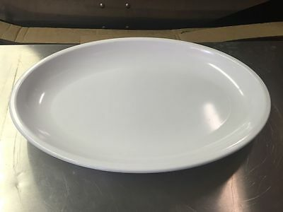 "Carlisle 19"" Oval Platter Serving Trays Plates N7918"