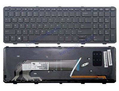 New US Layout keyboard Backlit For HP Probook 650 G1 655 G1 Series Laptop