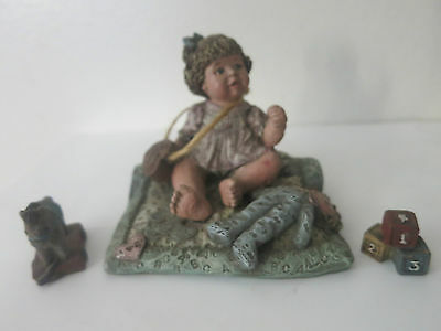 3 Vintage Sarah's Attic Rare 1991 Figures Collectibles Limited Editions Numbered