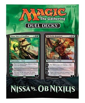 Wizards of the Coast Magic Nissa vs. Ob Nixilis Duel Deck (EN)
