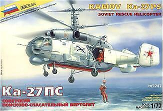 Ka-27PS Soviet rescue helicopter 1/72