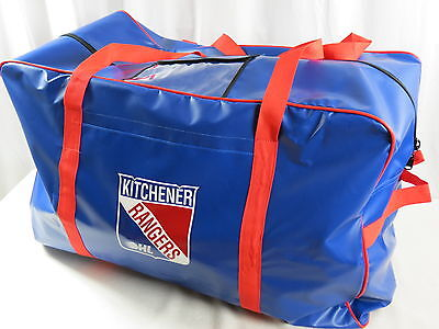 New Team Issued Kitchener Rangers OHL Pro Stock Hockey Player Gear Equipment Bag