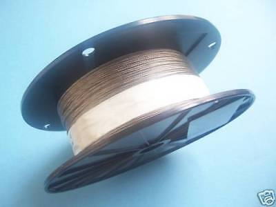 """304 Stainless Steel Wire Rope Cable 3/32"""", 7x7, 250 ft Reel"""