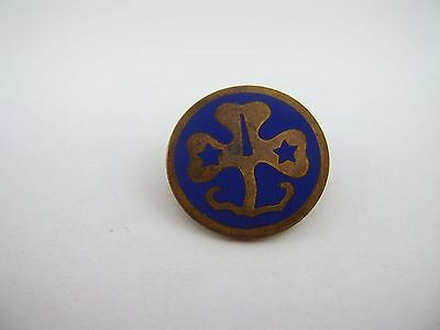 Vintage Lapel Hat Pin: Girl Guides World Association