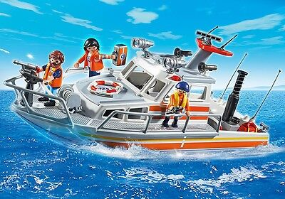 PLAYMOBIL Lancha de la Guardia costera 2014