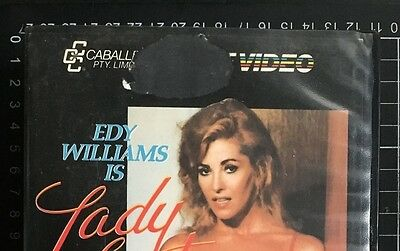 LADY LUST rare BETA not VHS video Edy Williams R-rated mens interest Russ Meyer
