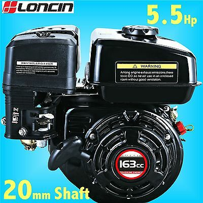 Loncin G160F-M 5.5Hp Stationary Engine for Wacker Plate replaces Honda GX160