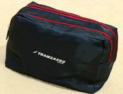 Russian Transaero Airlines Travel Amenity Kit Bag without Contents
