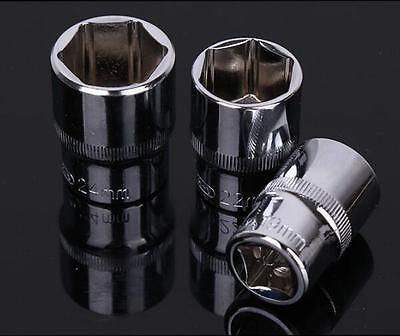 Various Chrome Socket Metric Car Bicycle Tool for 1/2'' 6PT Drive Wrench 8-32MM