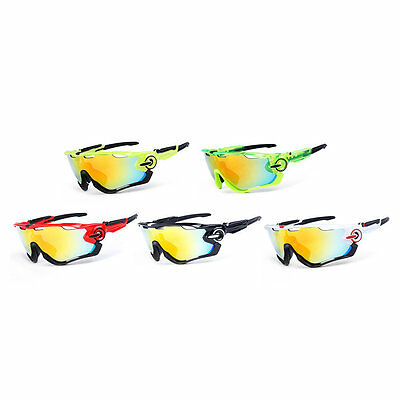 Obaolay Polarized Mans Mountain Bike Goggles Sport Cycling Sunglasses I6