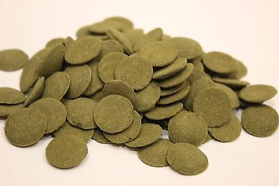 TROPICAL GREEN ALGAE WAFERS vegetable, sinking wafers with spirulina