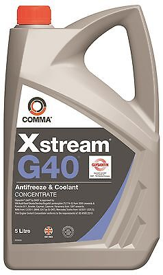 Comma Xstream G40 Antifreeze Coolant Xsg405L 5 Litre
