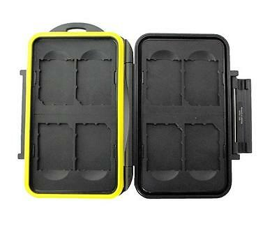 JJC MC-SD8 Rugged Waterproof Memory Card Case (8x SD/SDHC Cards)