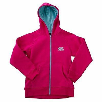 Canterbury Girls Zip Thru Hoody Hoodie Sweatshirt Age 8 10 12 14 Years Rrp £30