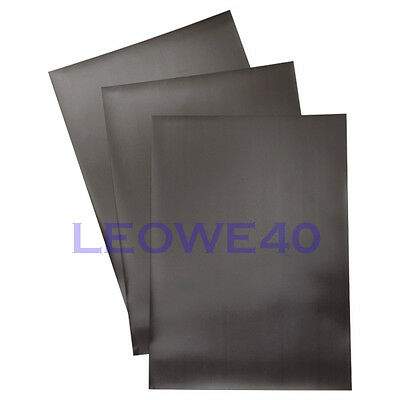 6 pieces A4 0.5mm soft magnetic sheets magnet dies craft NOT self-adhesive