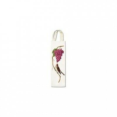 Alices Cottage AC25432 Bird with Grape Wine Caddy. Brand New