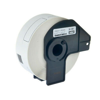400 Labels Per Roll White Address Label For Brother DK-1201 DK1201 QL-550 1PK