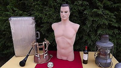 Vintage 50s pop art deco Mannequin Head Display mid century gay interest shop 2