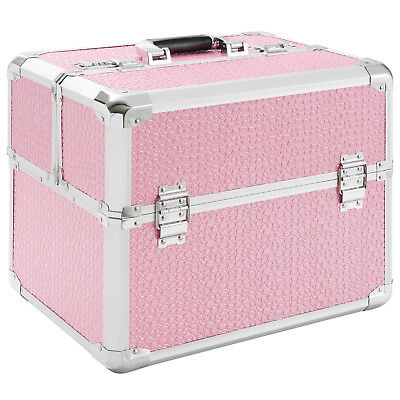 Beauty Case Cosmetic Makeup Train Case Vanity Nailart  Hairdressing Box Case