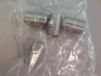 """1"""" straight Male Pipe Connector (4 pcs)"""
