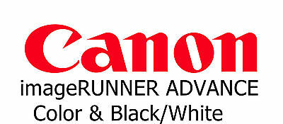 CANON IMAGERUNNER ADVANCE Service Manuals on 4- DVDs Catalogs, Guides,  Manuals
