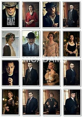 Peaky Blinders Classic Tv Show And Dvd Select Your Character Fridge Magnets