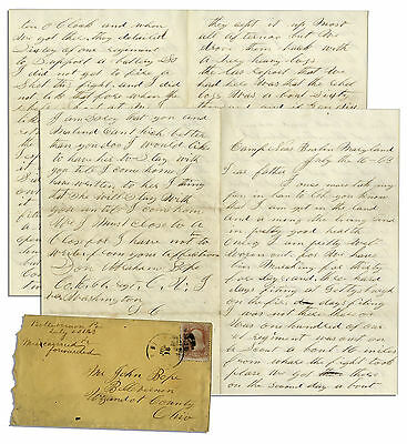 Civil War Soldier ID'd Letter Right After Gettysburg