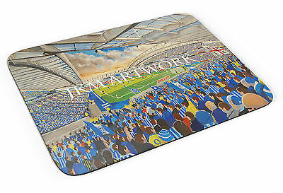 The Amex Stadium Art Mouse Mat - Brighton & Hove Albion FC