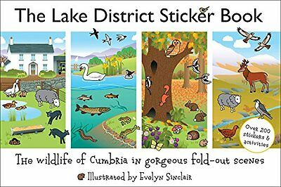 Lake District Sticker Book  9780956446046
