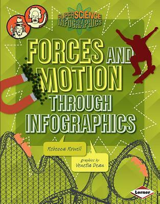Forces And Motion Through Infographics Rowell  Rebecca 9781467715911