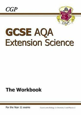 Gcse Further Additional (extension) Science Aqa Workbook Cgp Books 9781847628541