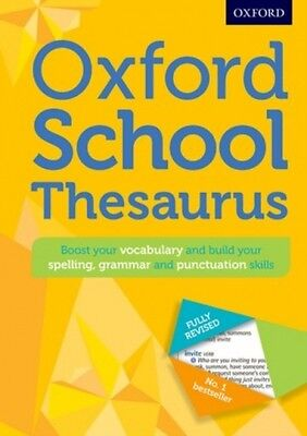 Oxford School Thesaurus Oxford Dictionaries 9780192743510