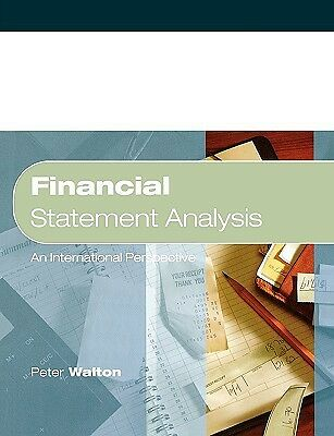 Financial Statement Analysis Walton  Peter 9781861524874