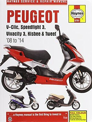 Peugeot V-clic, Speedfight 3, Vivacity 3, Kisbee And  Tweet Service And Repair M
