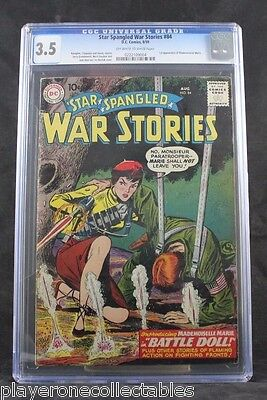 Star Spangled War Stories #84 (DC, 1959) CGC VG- 3.5 Off-white to white pages