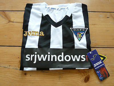 DUNFERMLINE ATHLETIC FC SHIRT small home football top 2015/16 SOCCER JERSEY DAFC