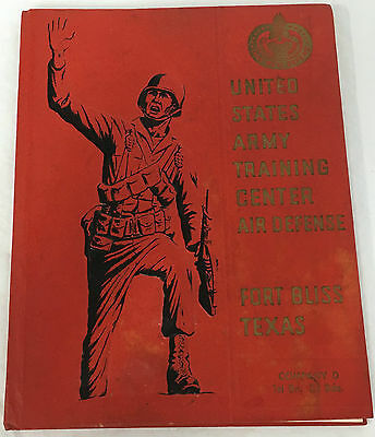 1967 US Army Fort Bliss Company D 1st Bn 3rd Brigade Yearbook