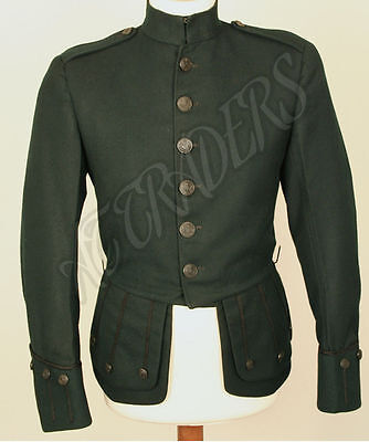 Brand New Military Piper Drummer Doublet Tunic Green Jacket 100% Wool (30-56)""