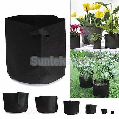 1-30 Gallon Root Control Plant Pot Garden Growing Bag Container Seedling Pouch