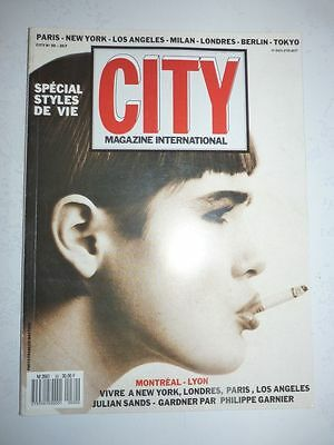 Magazine / revue CITY INTERNATIONAL #30 mars 1987 spécial styles de vie