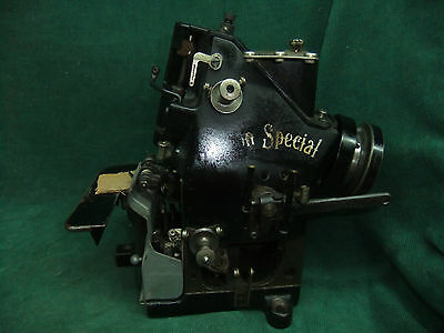 "Vintage Union Special Industrial Overlock Sewing Machine ""Serger type"""