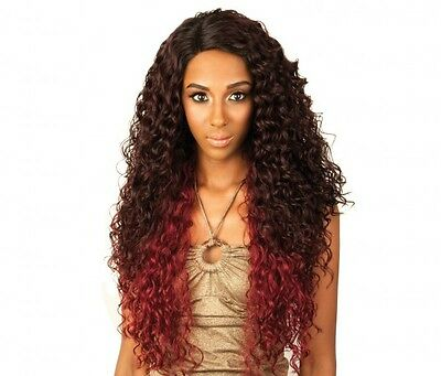 RCP289 SUPER JACKY - ISIS Red Carpet Synthetic Lace Front Wig Long Curly