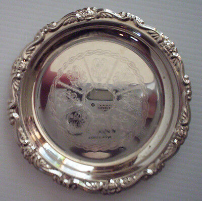 Lovely Silver Plated Coaster
