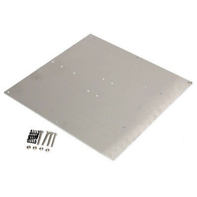 Anodized Aluminum Heated Bed Buld Plate For 3D Printer RepRap Prusa Makerbot