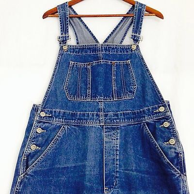 Vintage Grunge Denim Carpenter Overalls. Size Large. Jonny Q Brand.