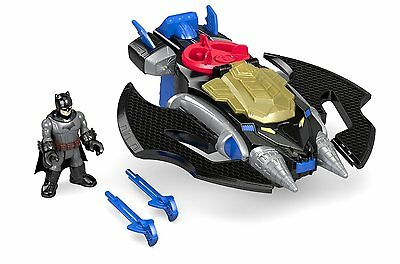 Batwing Drillers DC Super Friends Batman Action Figure Fisher-Price Imaginext