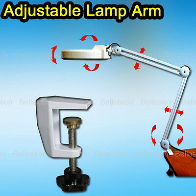 Magnifying Lamp Light 5 Diopter Magnifier Glass Nail Tattoo 22W Clamp AU PLUG NE